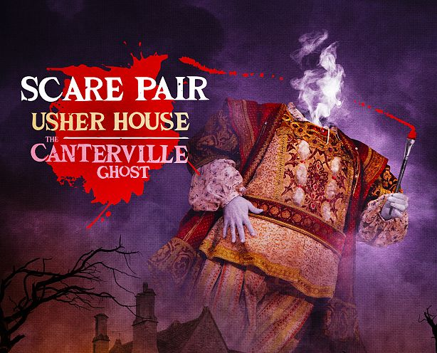 Scare Pair: Usher House & The Canterville Ghost image