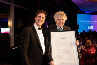 Young People's Chorus of NYC honors Gordon Getty with First Legacy Award main image