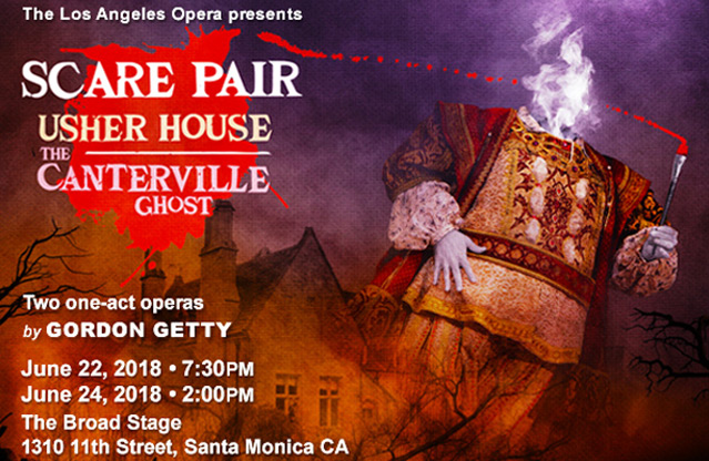 Scare Pair: Usher House & Canterville Ghost LA Opera image